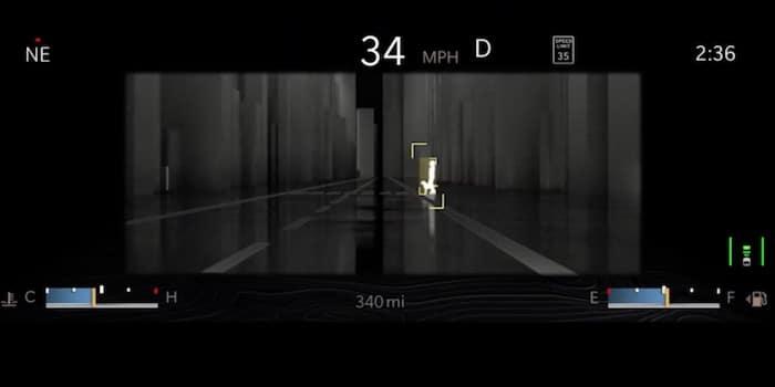 2021 Jeep Grand Cherokee L available night vision camera