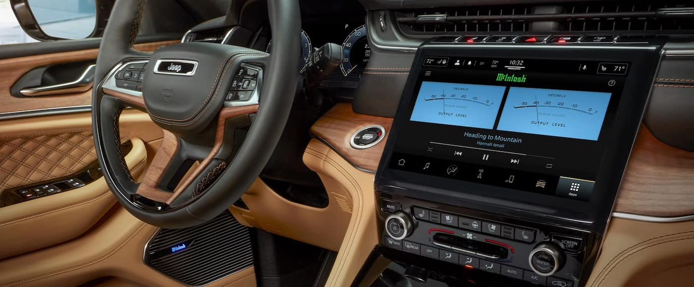 2021 Jeep Grand Cherokee L technology