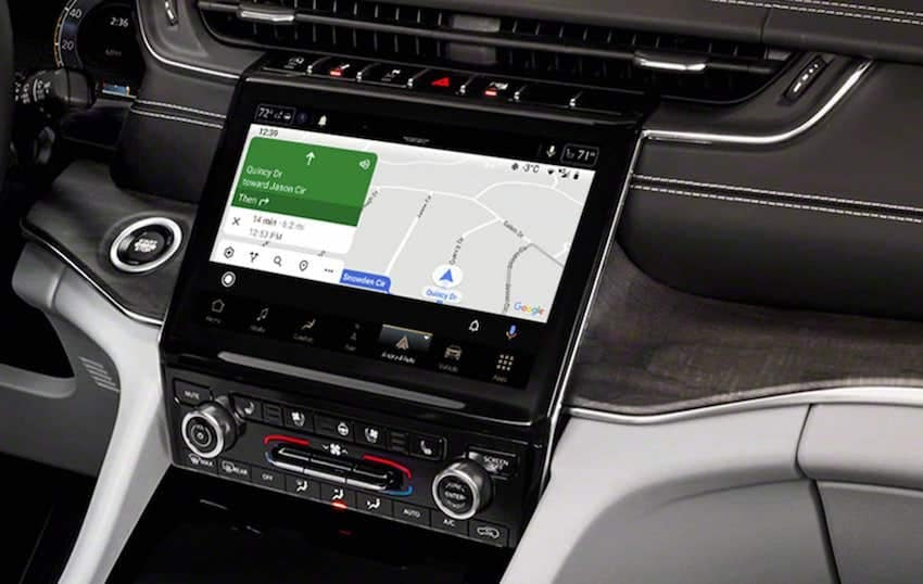 2021 Jeep Grand Cherokee L Android Auto connectivity