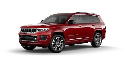 2021 Jeep Grand Cherokee L Overland model for sale