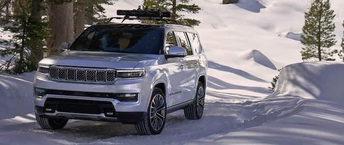 2022 Jeep Grand Wagoneer Quadra-Drive II 4x4 System
