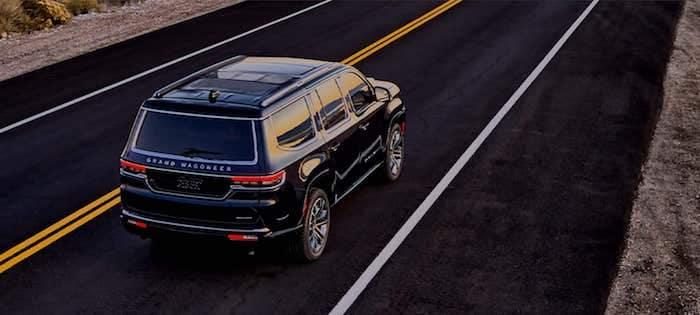 2022 Jeep Grand Wagoneer Quadra-Lift Air Suspension
