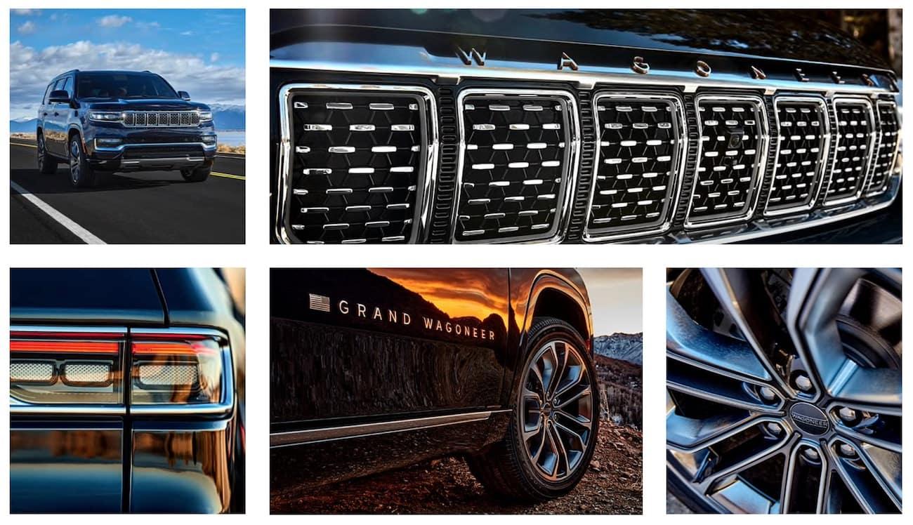 2022 Jeep Grand Wagoneer exterior design