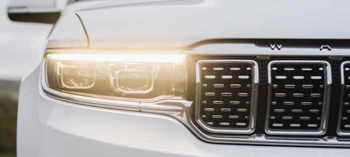 2022 Jeep Grand Wagoneer LED lighting