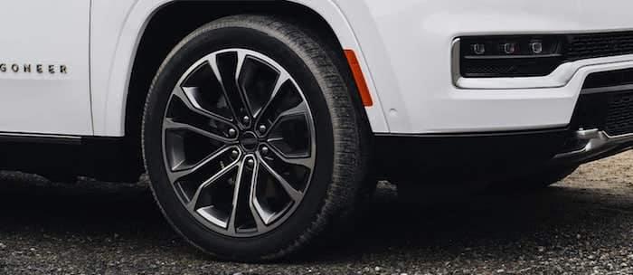 2022 Jeep Grand Wagoneer wheel selection