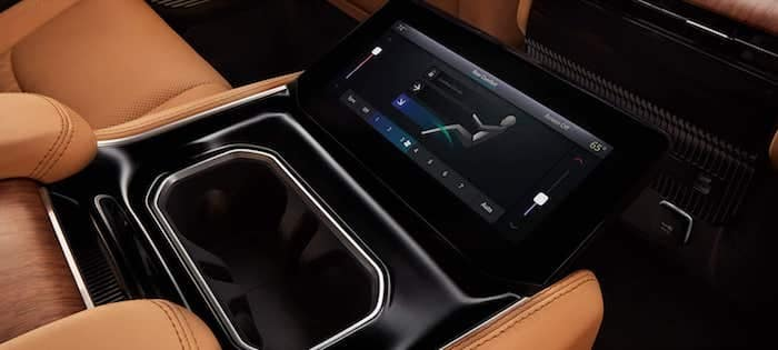 2022 Jeep Grand Wagoneer four-zone automatic climate control
