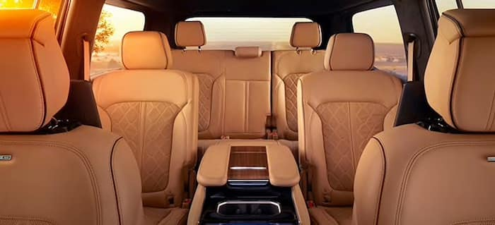 2022 Jeep Grand Wagoneer Three-Row Seating with the Most Overall Passenger Volume in its Class