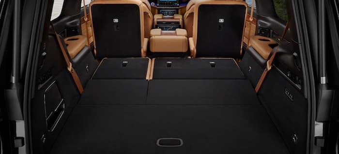 2022 Jeep Grand Wagoneer Power-Folding Third-Row Bench Seat