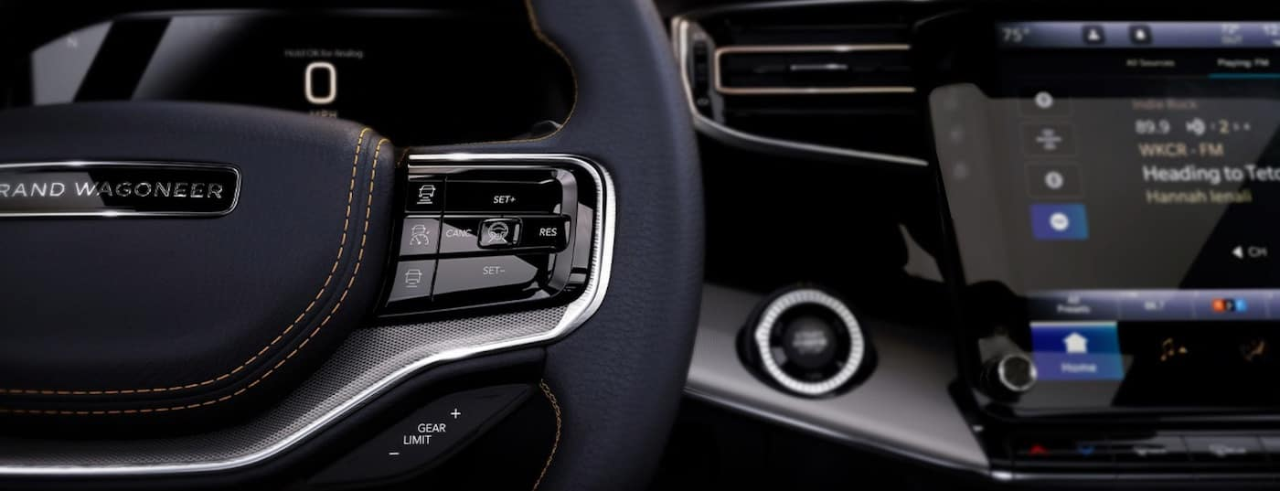 2022 Jeep Grand Wagoneer available surround-view camera