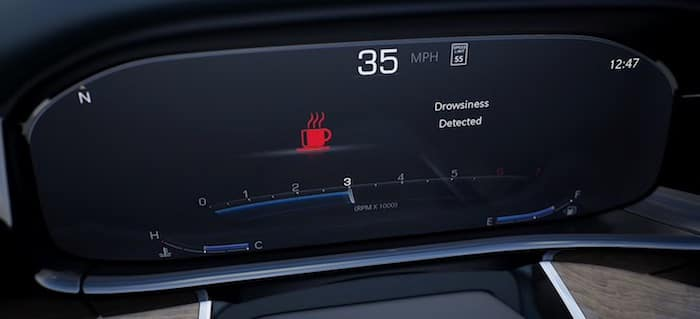 2022 Jeep Grand Wagoneer Available Drowsy Driver Detection