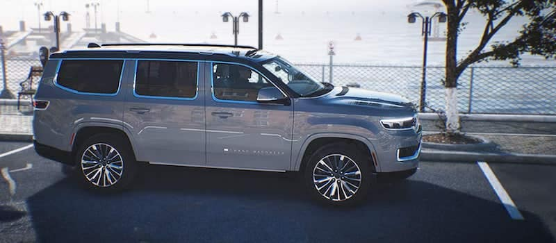 2022 Jeep Grand Wagoneer ParkSense Automated Parking System
