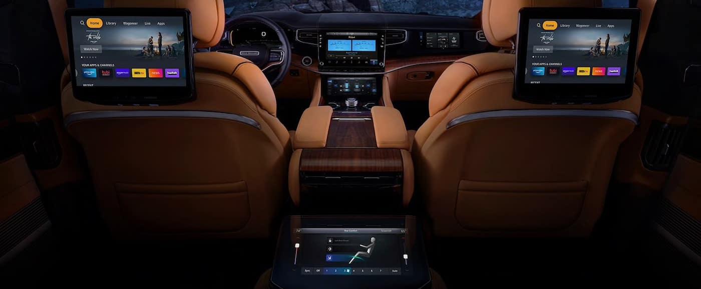2022 Jeep Grand Wagoneer technology