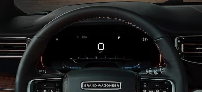 2022 Jeep Grand Wagoneer Driver Information Digital Cluster