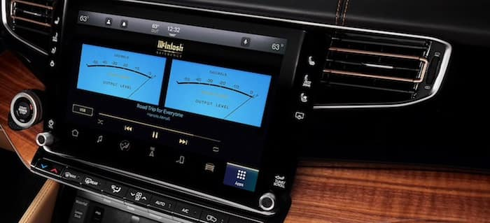 2022 Jeep Grand Wagoneer Next-Gen Uconnect® 5 System with 12-Inch Touchscreen