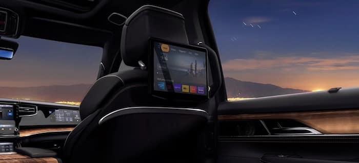2022 Jeep Grand Wagoneer Rear Seat Entertainment Displays
