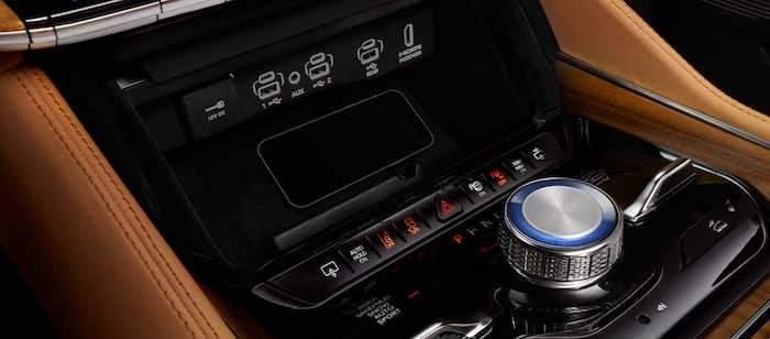 2022 Jeep Grand Wagoneer Wireless Charging Pad