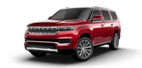 2022 Jeep Grand Wagoneer Series II model suv for sale