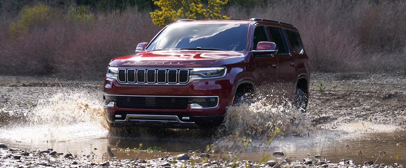 2022 Jeep Wagoneer capability
