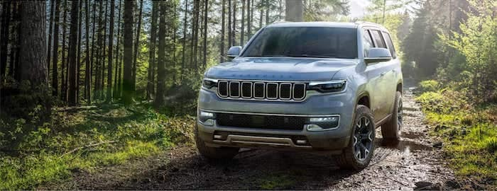 2022 Jeep Wagoneer 4x4 systems