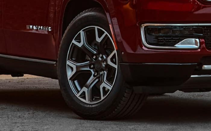 2022 Jeep Wagonee all-terrain tires