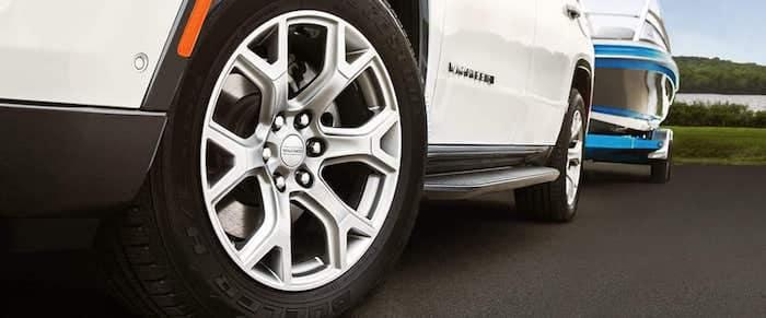 2022 Jeep Wagoneer wheel options