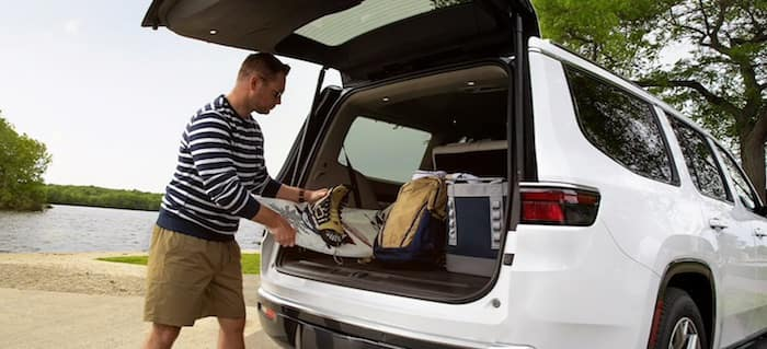 2022 Jeep Wagoneer most cargo volume in its class