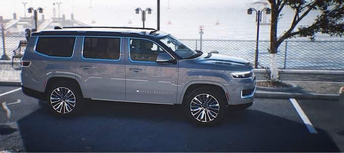 2022 Jeep Wagoneer park assist