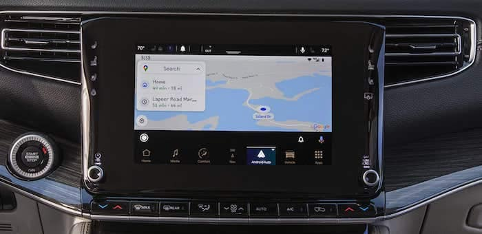2022 Jeep Wagoneerandroid auto