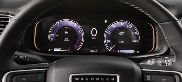 2022 Jeep Wagoneer driver information digital cluster display