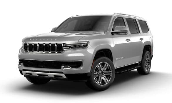 2022 Jeep Grand Wagoneer SUV for sale at Redwood City Jeep dealership near San Jose