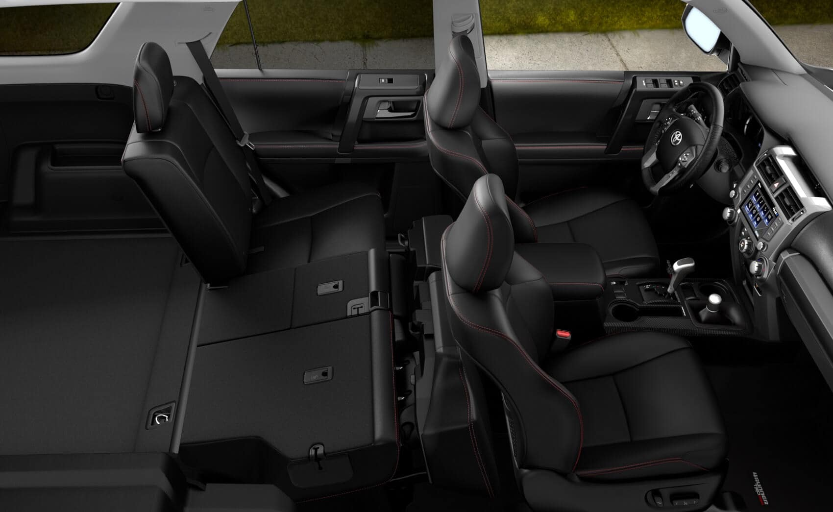 2020 Toyota 4Runner Interior Space