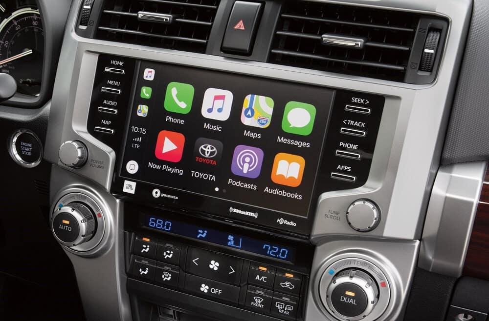 2020 Toyota 4Runner Apple CarPlay