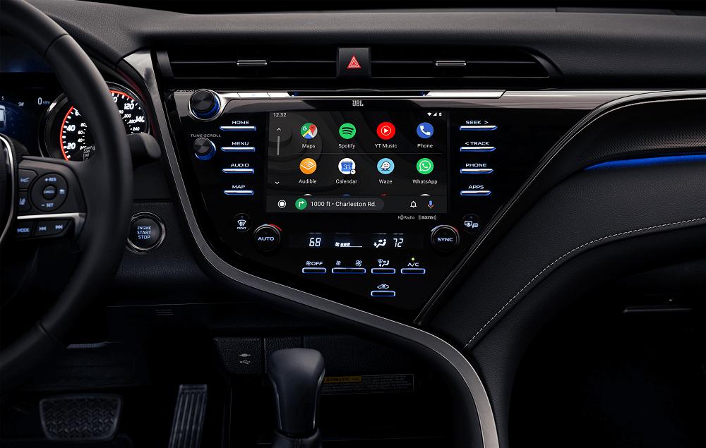 2020 Toyota Camry Interior Technology