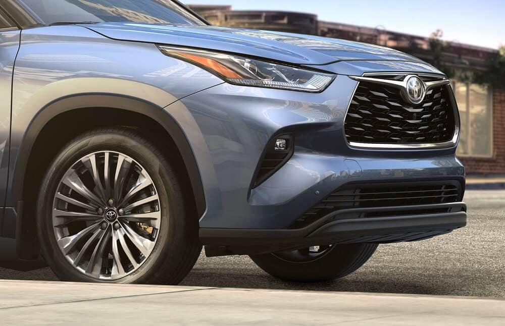 2020 Toyota Highlander Safety