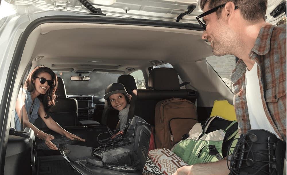 Toyota 4Runner Cargo Space