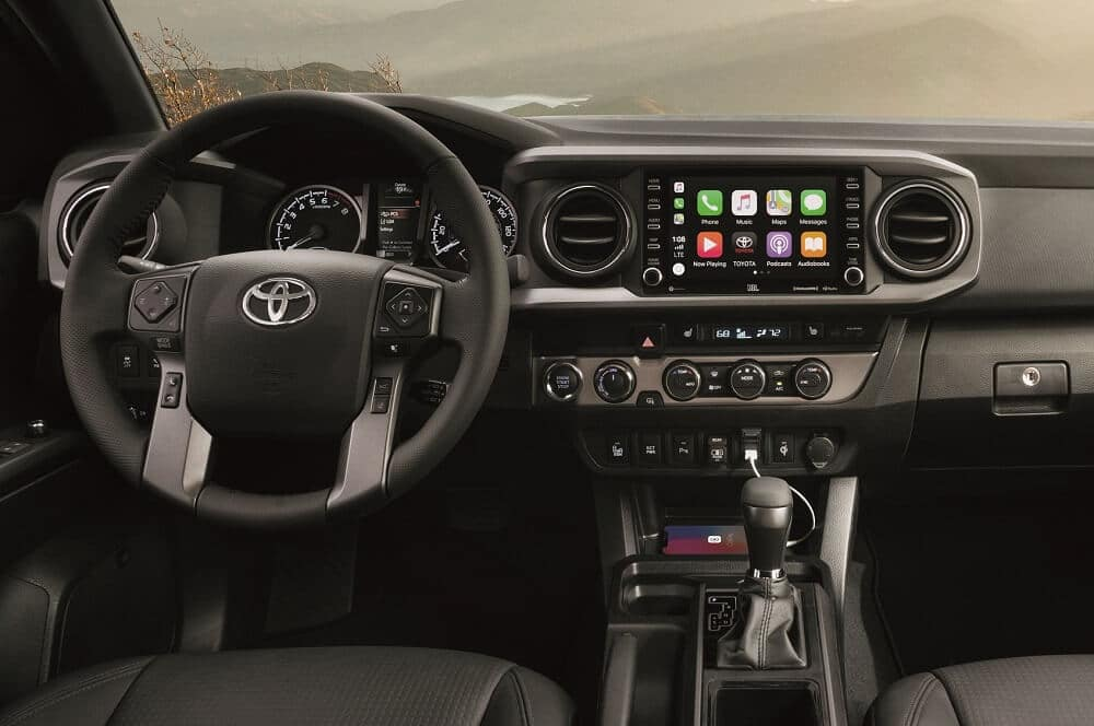 2020 Toyota Tacoma Interior Technology