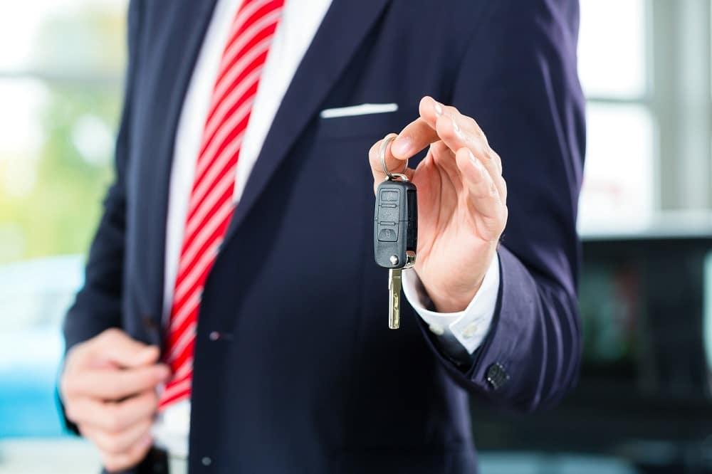 Handing Over Car Key