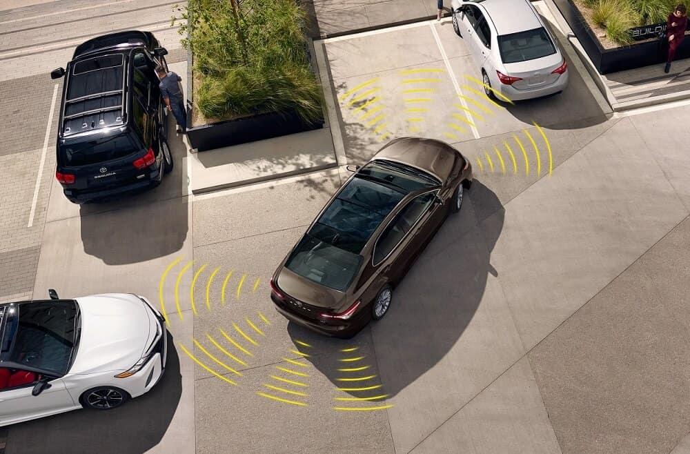 Toyota Camry Safety Technology