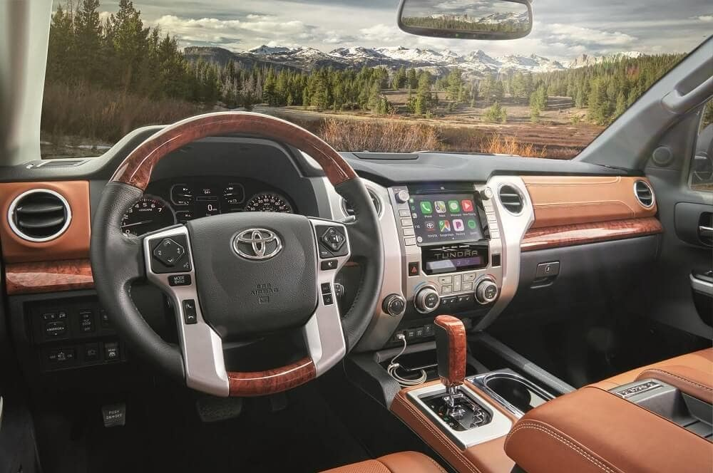 2020 Toyota Tundra Interior with Apple CarPlay® Technology