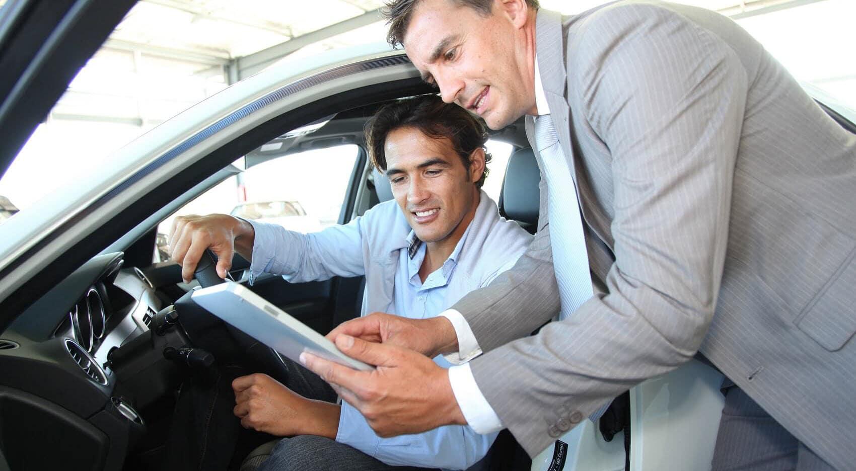Test Drive at Dealership