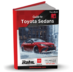 Guide to Toyota Sedans eBook