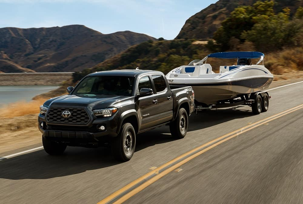 Toyota Tacoma Engine & Towing Specs