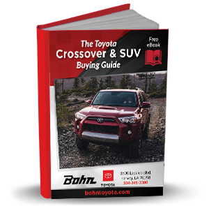 Toyota Crossover & SUV Buying Guide eBook