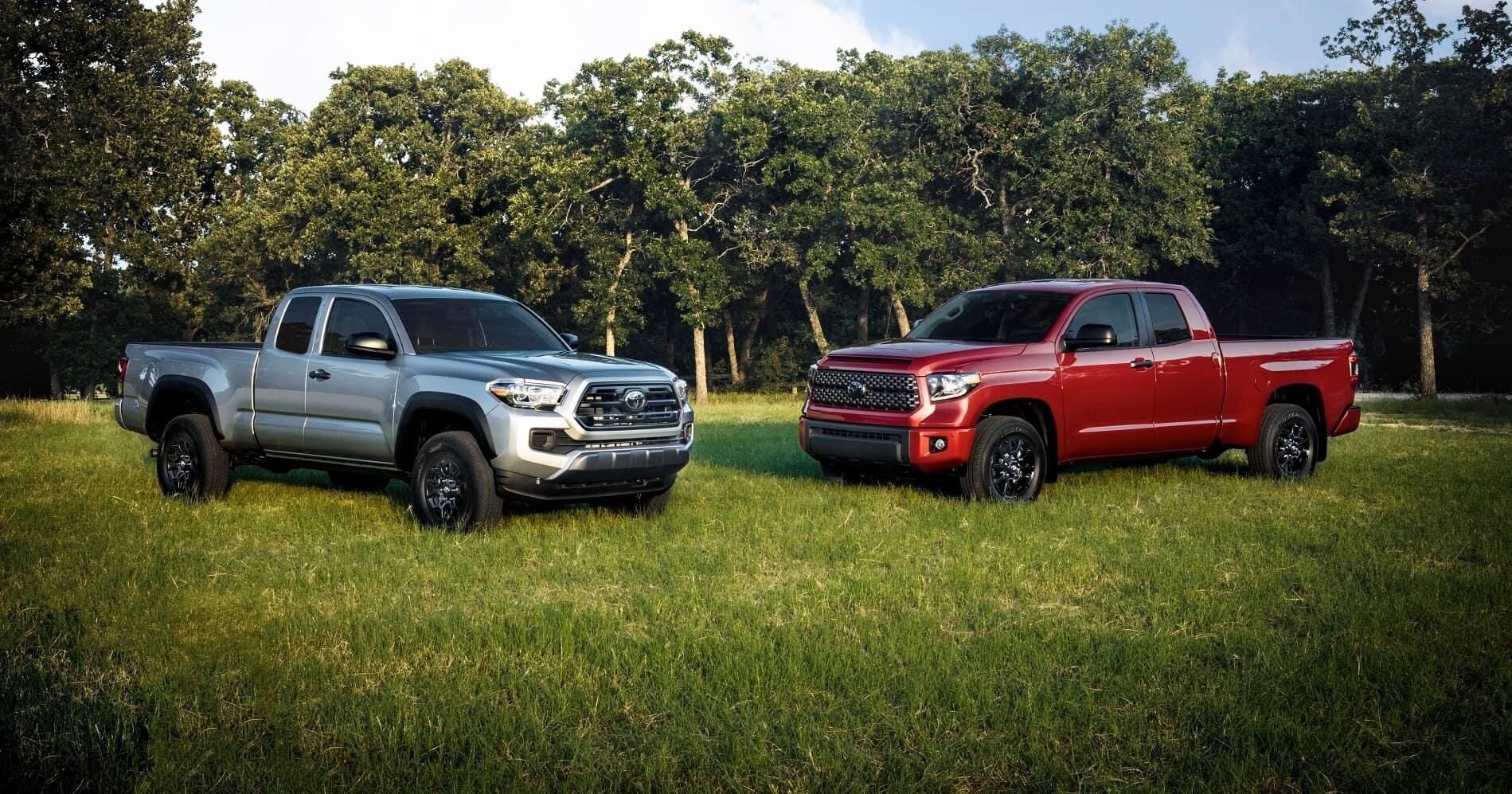 Toyota Tundra and Tacoma