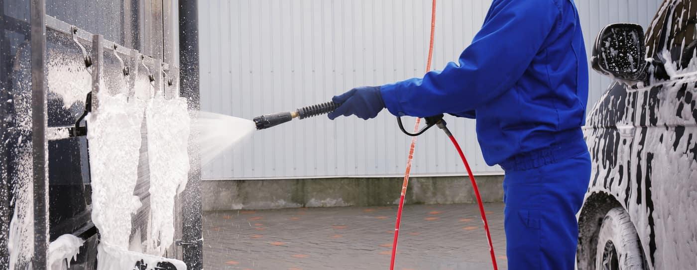 spraying mats