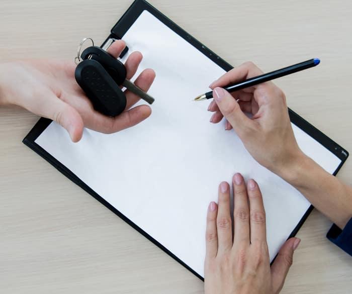 Signing paper keys