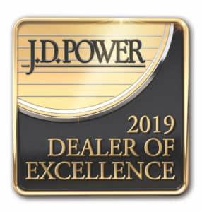 2019 JD Power Dealer of Excellence