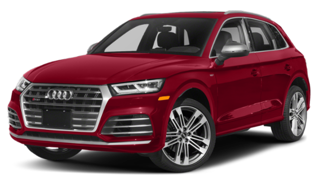2020 Red Audi Q5 image