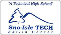 Sno-Isle Tech Skills Center - A Technical High School Logo
