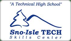 Sno-Isle Tech Skills Center - A Technical High School Logo